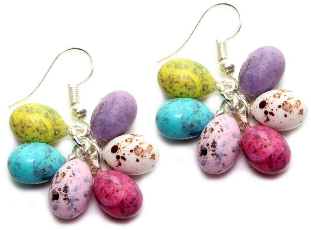 Bluebubble MINI SWEET TREAT Mini Egg Cluster Dangle Earrings With FREE GIFT BOX